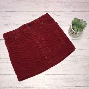 Ralph Lauren corduroy skirt